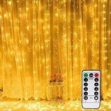 Curtain Light, 300 LED 3m * 3m Window Fairy