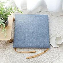 Cuscini per sedia in lino di cotone e lino per