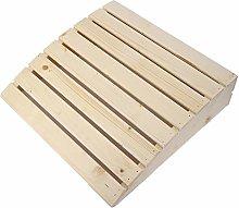 Cuscino in legno, pratici accessori per sauna per
