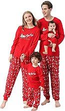 CuteAngel Pigiama Natale Famiglia Coordinati Due