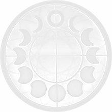 CUTULAMO Stampo a Forma di Luna Rotonda,