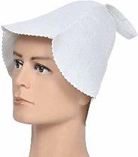CVERY - Cappello da sauna, da donna, in feltro,