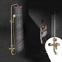 CY Set doccia rame antico doccia scultura del