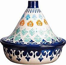 CYTT123 Vaso di tajine colorato Fatto a Mano