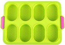 DAKIFENEY Stampo da forno per muffin in silicone e