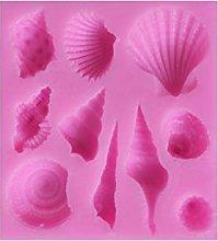 DAKIFENEY - Stampo in silicone a forma di coda di