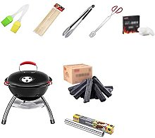 Dalovy Barbecue Portatile,Bollitore 38 Cm,Barbecue