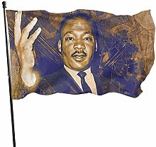 Dandiera Vintage Martin Luther King Day resistente