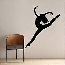 Danza Ballet Decalcomania Della Parete Signore