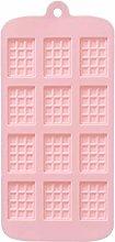 DealMux 12 Griglia Stampo Cioccolato Stampo Forno