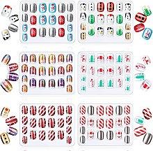 DealMux 120 pezzi di Natale per bambini unghie