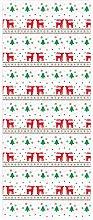 DealMux 2 Pezzi/Set Albero di Natale Alce