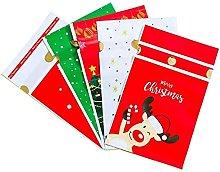 DealMux 50 pezzi Dot Heart Candy Christmas Plastic