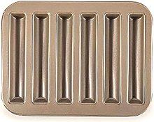 DealMux 6 L? Cher Strips Shape Cupcake Pan