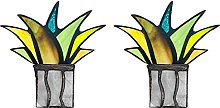 DealMux Agave artificiale Stained Glass Aloe