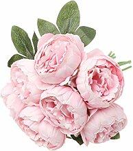 DealMux Bouquet di petali di seta di peonia