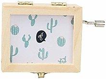 DealMux Carillon Cartone Animato Cactus In Legno