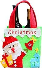 DealMux ChristmasTote Bags Sacchetti di snack in