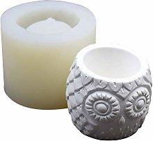 DealMux Durevole silicone gufo vaso di fiori