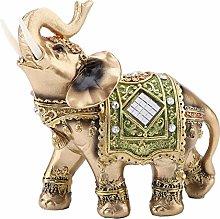 DealMux Elefante Statua, Lucky Feng Shui Elefante