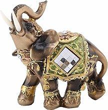 DealMux Elephant Statue, Lucky Feng Shui Elefante