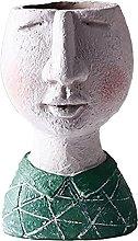 DealMux Face Design Vaso di fiori Creativo Vaso di