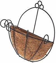 DealMux Flower Pot Iron Coconut Giardino fai da te