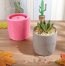 DealMux forma vaso di fiori in cemento, rotondo,