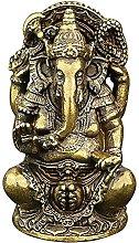 DealMux God Lord Ganesha Idol Statua Elefante
