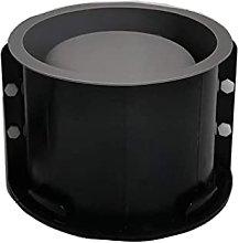 DealMux Grande 6 pollici rotondo in cemento vaso