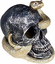 DealMux Horror Scheletro Serpente Habitat Cranio