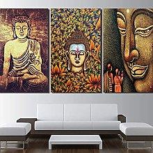 DealMux Karrnta Wall Art Stampe su tela 3 Pezzi
