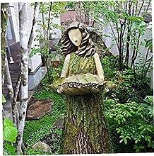 DealMux Mangiatoia per uccelli Statua Mangiatoia