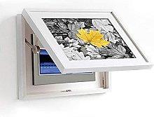 DealMux Modern Minimalist White Meter Box Pittura