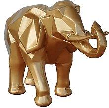 DealMux Moderna Geometrica Astratta Oro Elefante