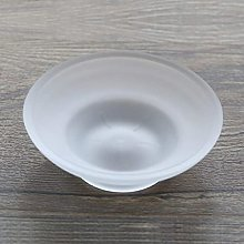 DealMux Portasapone rotondo in vetro Scatola