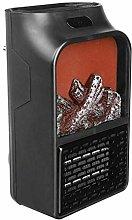 DealMux Riscaldatore di fiamma simulato Mini
