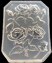 DealMux Rose Flower Foglie d'acero Cake Decor