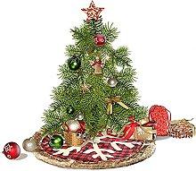 DealMux Round Trim Decorazioni natalizie Oggetti