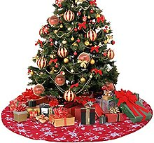 DealMux Round Trim Ornamenti natalizi Gonna grande