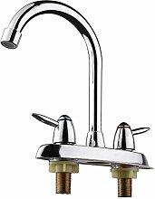 DealMux rubinetto girevole per bagno e cucina,