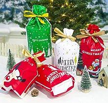 DealMux Sacchetti regalo con coulisse di Natale,
