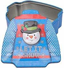 DealMux Scatola di latta natalizia per vestiti