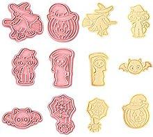 DealMux Set di 6 tagliabiscotti di Halloween per