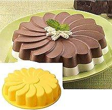 DealMux stampo per torta in silicone girasole,