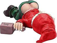 DealMux Statua di GNOME ubriaco, divertente statua