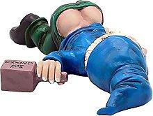 DealMux Statua di GNOME ubriaco, GNOME divertente