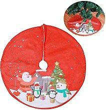 DealMux Tappeto per albero di Natale Gonna per