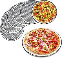 DealMux Teglia per pizza in alluminio da 6 pollici