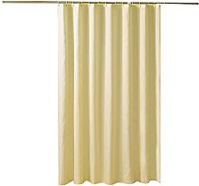 DealMux tenda della doccia tinta unita beige tenda